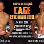 Atleta della MMA ATLETICA BOXE, Vlad Popovskii trionfa contro Vasiliy Fedorych al Cage Encounter