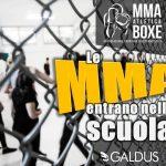 Sono on line le foto del bellissimo incontro con gli studente della scuola GALDUS e il Maestro Garcia Amadori per fargli conoscere la disciplina delle MMA