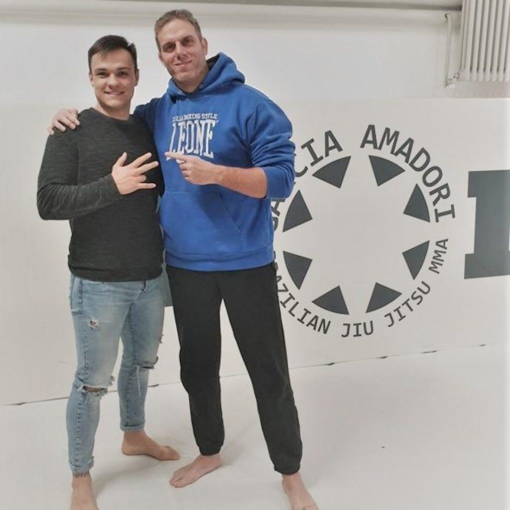 Manolo Zecchini e Garcia Amadori alla MMA Atletica BOXE