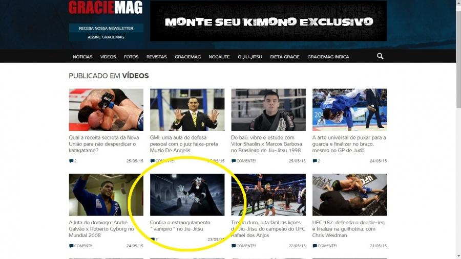 Leggete la traduzione dell'articolo uscito sulla rivista brasiliana numero uno al mondo di BRAZILIAN JIU JITSU: GRACIEMAG...